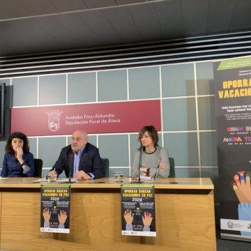 El Ayuntamiento de Vitoria-Gasteiz y la Diputación de Álava animan a las familias a acoger este verano a 50 niños y niñas saharauis – Noticias Vitoria