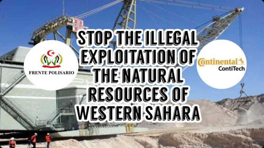El POLISARIO advierte a la empresa alemana «Continental» que no se involucre en la explotación ilegal del fosfato saharaui | Sahara Press Service