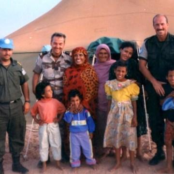Generación de la Amistad saharaui: El Turbante Azul de la ONU. A la memoria de Gary Benavides