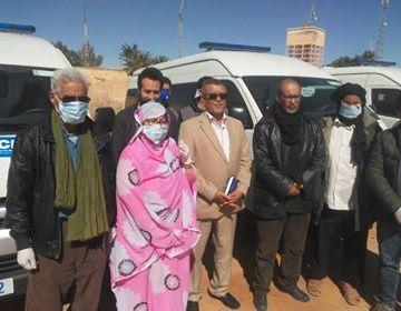 El Ministerio de salud de la República Saharaui refuerza su flota vehicular con cuatro nuevas ambulancias | Sahara Press Service