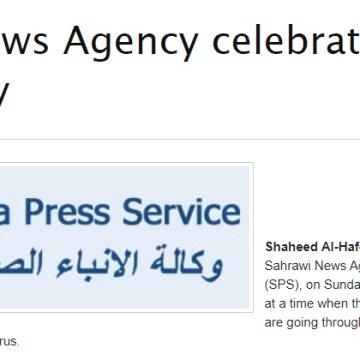 Sahrawi News Agency celebrates its 21st anniversary | Sahara Press Service