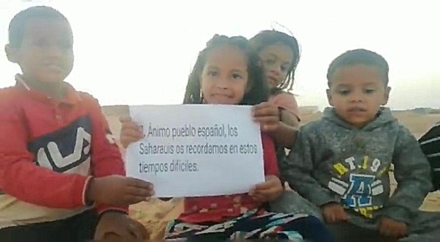 Los refugiados saharauis envían un abrazo lleno de luz al pueblo español