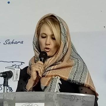 «La comunidad internacional está obligada a redoblar sus esfuerzos para permitir al pueblo saharaui sus derechos legítimos» (activista sudafricana)