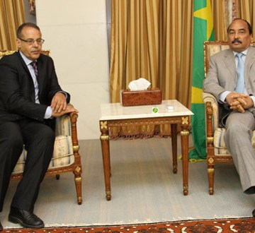 El ex presidente mauritano Mohamed Ould Abdelaziz expresa sus condolencias a las autoridades de la República Saharaui por la partida del destacado líder Mhamed Jadad