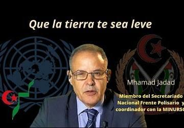Condolencias al pueblo saharaui por la muerte del Sr. Mhamad Jadad – Um Draiga