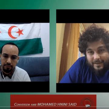 Conversación con Mohamed Hnini Said, secretario general de la LEJSEE (Liga de Estudiantes y Jóvenes Saharauis en el Estado Español)- Sàhara Dempeus