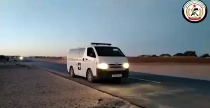 VÍDEO | En los campamentos saharauis avisan por megafonía: «Están obligados a estar en sus jaimas»
