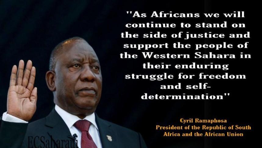 Día de África: el Presidente de la Unión Africana reitera el apoyo a la lucha del pueblo saharaui por la libertad y la independencia