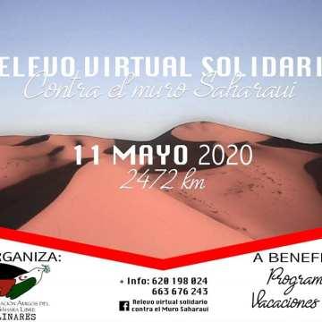 VEOLINARES | Únete al relevo virtual solidario contra el muro saharaui