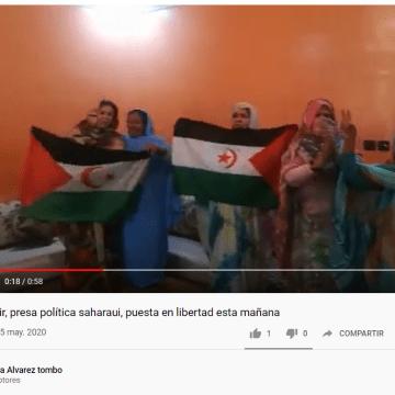 Mahfouda Elfakir, presa política saharaui, puesta en libertad esta mañana   PUSL