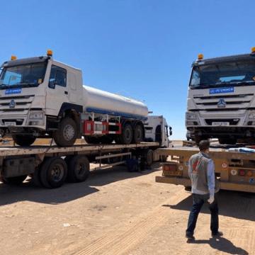 UNHCR Algeria: Cinco camiones de agua más entregados a la comunidad de refugiados saharauis  #ATTSF