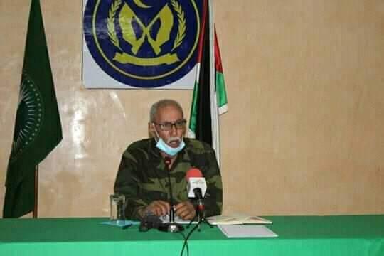 Brahim Gali preside una reunión del Buró permanente del Frente Polisario