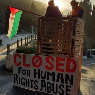 Activistas de Nueva Zelanda bloquean la entrada de la compañía de fertilizantes Ravensdown | PUSL