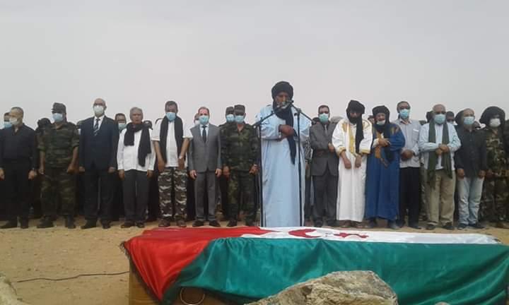 Funeral del Estado saharaui por Mhamed Jaddad en el campamento de refugiados de Smara | Fotos ECS