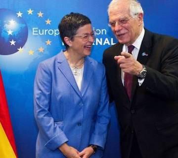 Mayo saharaui: la ministra González Laya supera a Borrell en agradar a Marruecos | Contramutis