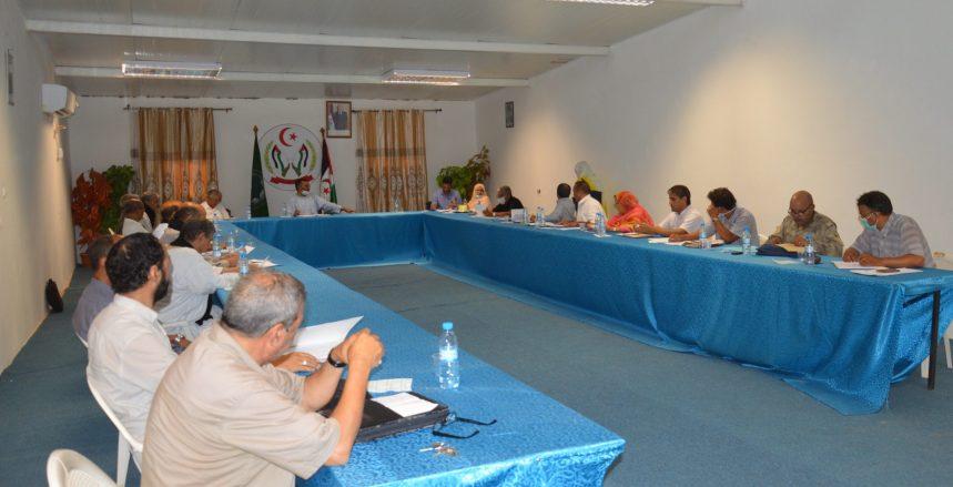 El Gobierno Saharaui se reúne para responder a las preguntas de los miembros del Consejo Nacional sobre el programa del gobierno 2020 | Sahara Press Service