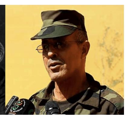 Brahim Mohamed Mahmud jura como nuevo miembro del Secretariado Nacional Saharaui ante el SG del Frente Polisario