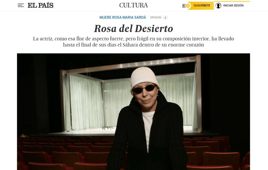 Rosa del Desierto – Sahara Press Service |FERNANDO ÍÑIGUEZ Fuente: El País