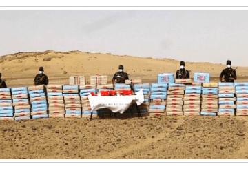 El ejército saharaui desmantela red de narcotráfico e incauta 3775 kg de hachís procedente de Marruecos | Sahara Press Service