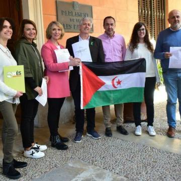 El Intergrupo Paz y Libertad en el Parlament de les Illes Balears pide nacionalidad para los saharauis