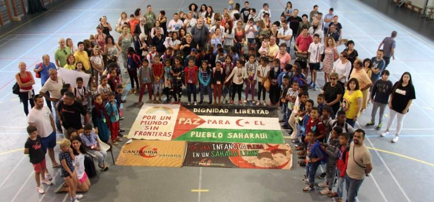 'Cantabria por el Sahara' organiza una concentración en apoyo a los niños de 'Vacaciones en Paz' – El Faradio