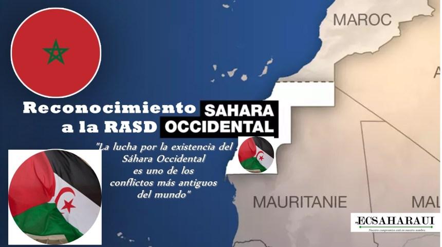 El mundo tiene la obligación de reconocer a la República Saharaui (RASD)