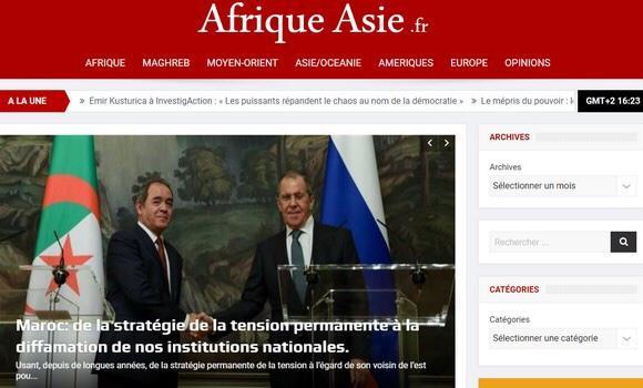 Afrique Asie: Marruecos protagoniza una campaña infame contra Argelia y sus instituciones civiles y militares – El Portal Diplomatico