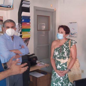 Alicante: La concejala de Cooperación, María Conejero, visita la casa de acogida de niños y niñas saharauis – ONDA 15