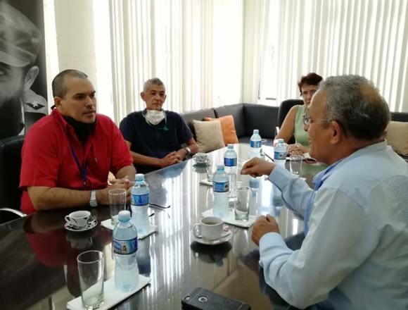 Prensa Latina & SPS: Saharawi Ambassador meets Prensa Latina's Officials – Sahara Press Service