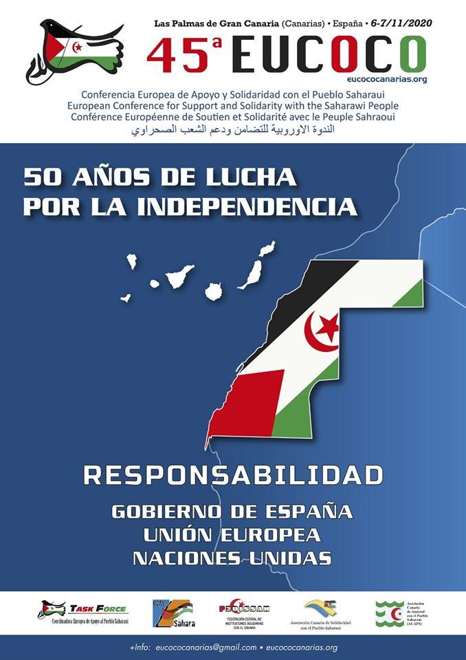 45 ª CONFERENCIA EUROPEA DE APOYO AL PUEBLO SAHARAUI (EUCOCO)