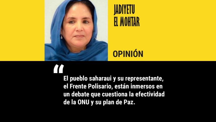 El pueblo saharaui ha dicho basta, por Jadiyetu El Mohtar • LA ÚLTIMA HORA