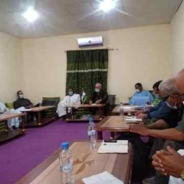 Coronavirus: El presidente de la República preside una reunión para estudiar el estado de salud | Sahara Press Service (v. árabe)