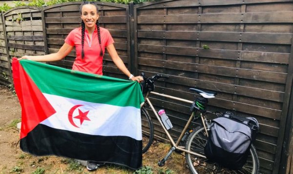 French activist cycling to Geneva in solidarity with Western Sahara | Sahara Press Service