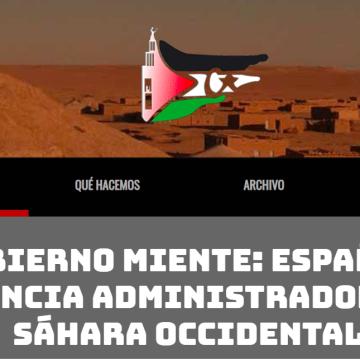 Sahara Sevilla | El Gobierno miente: España es la Potencia Administradora del Sáhara Occidental