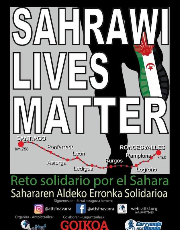 Un voluntario convierte 758 kilómetros del Camino de Santiago en un testimonio del pueblo saharaui – 20minutos