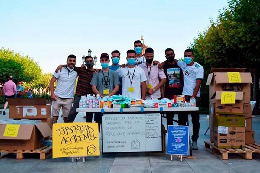 ALCALÁ DE HENARES | Gran recogida de material sanitario anti COVID para el pueblo saharaui