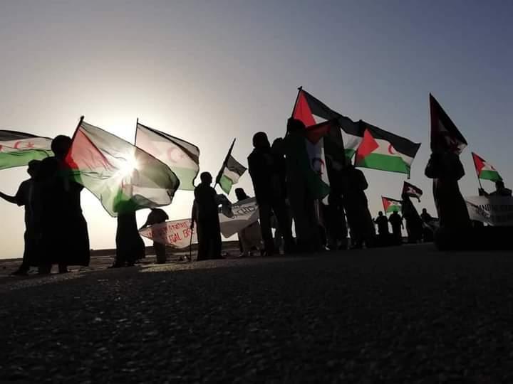 La brecha ilegal en Guerguerat está totalmente tomada y controlada por los saharauis