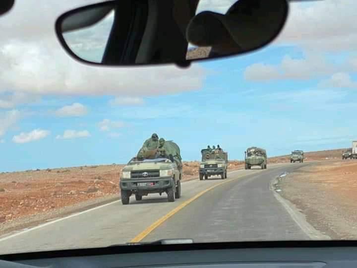 Marruecos envía tropas a la frontera sur del Sáhara Occidental