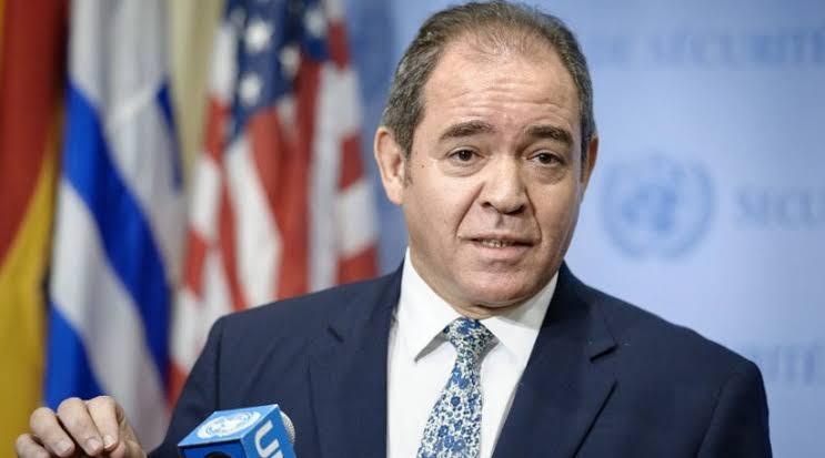Conversaciones entre Boukadoum y el Secretario General de la ONU sobre el Sáhara Occidental