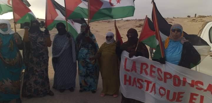 Diez días de grandes protestas en el Sáhara Occidental. De un extremo a otro: de Birlehlu a El Guerguerat