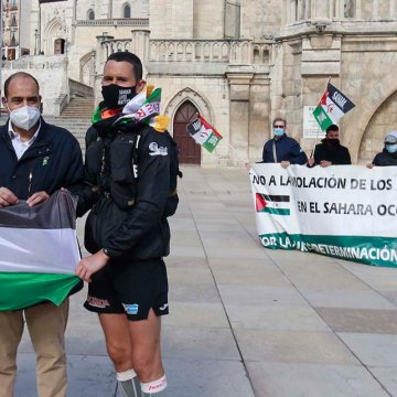 Burgos, parada Jacobea para «reflotar la causa saharaui»