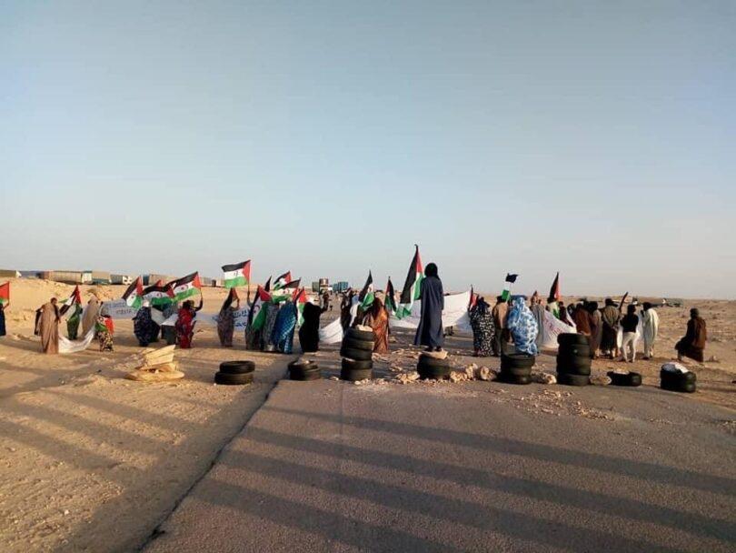 ÚLTIMAS NOTICIAS sobre la decisión del Pueblo Saharaui de asentarse en la zona de Gargarat para evitar el expolio de los recursos naturales de su territorio