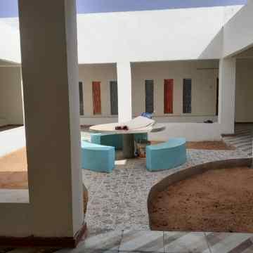COSLADA/ Colaboran en la construcción de una biblioteca en un campo de refugiados saharauis | Noticias para Municipios