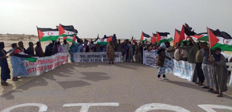 Situación en Gargarat: el Comité Civil llama la atención de la MINURSO sobre los movimientos militares del ocupante marroquí cerca del muro | El Portal Diplomático
