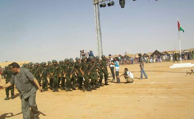 Con gran entusiasmo los saharauis celebran la fiesta (45° aniversario de la unidad nacional) más grande del pueblo del Sáhara Occidental