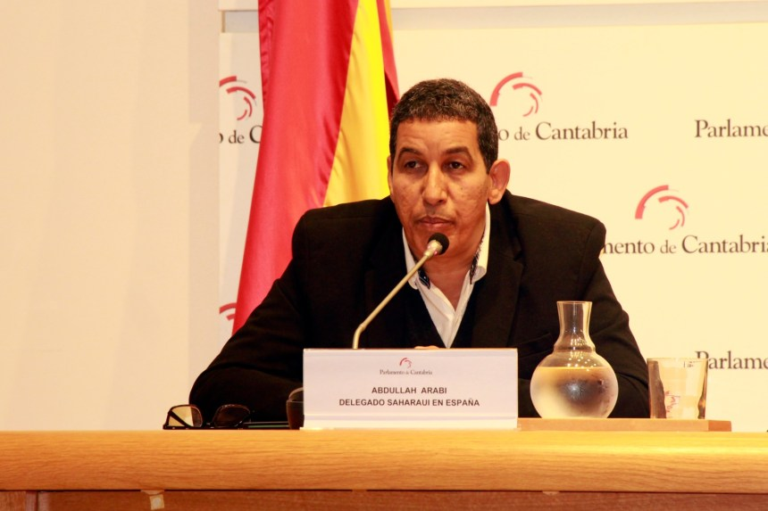Abdulah Arabi commends solidarity movement role in support of Saharawi people