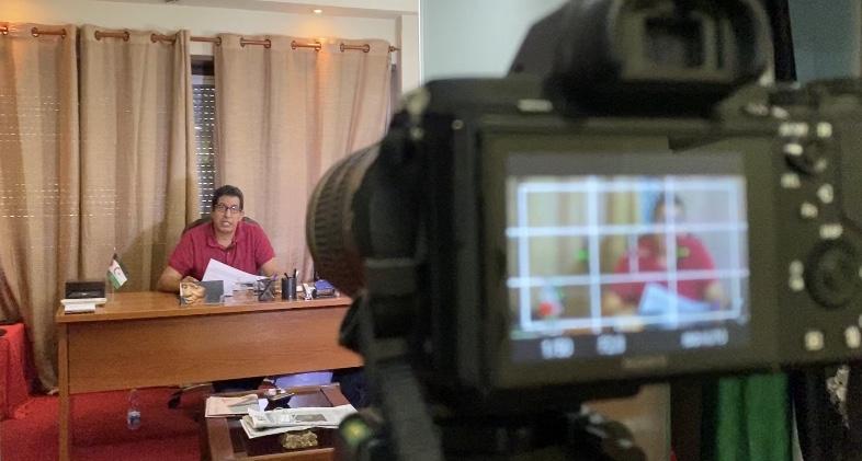 Abdulah Arabi elogia el gran papel desempeñado por el movimiento de solidaridad de apoyo al pueblo saharaui | Sahara Press Service