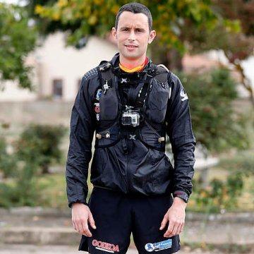 Joseba Alzueta corre los 753 km que separan Roncesvalles de Santiago de Compostela para dar visibilidad a la causa saharaui   Sahara Press Service