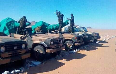 Marruecos mueve tropas en el sur del Sáhara Occidental y el Frente Polisario declara la alerta máxima