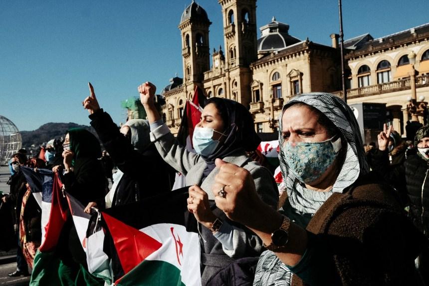 Donostia se manifiesta por una 'Sáhara libre' – Donostitik